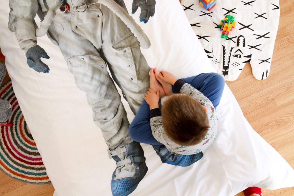 Snurk otroška posteljnina
