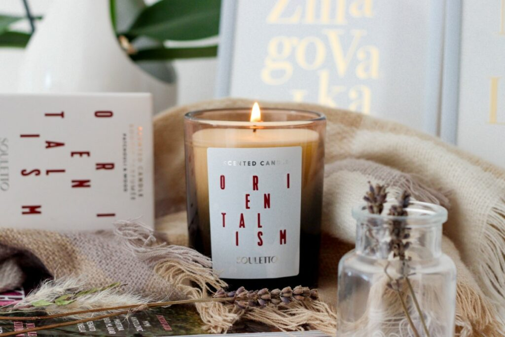 Souletto sveče za miren in lepši dan, ter dišeč dom.